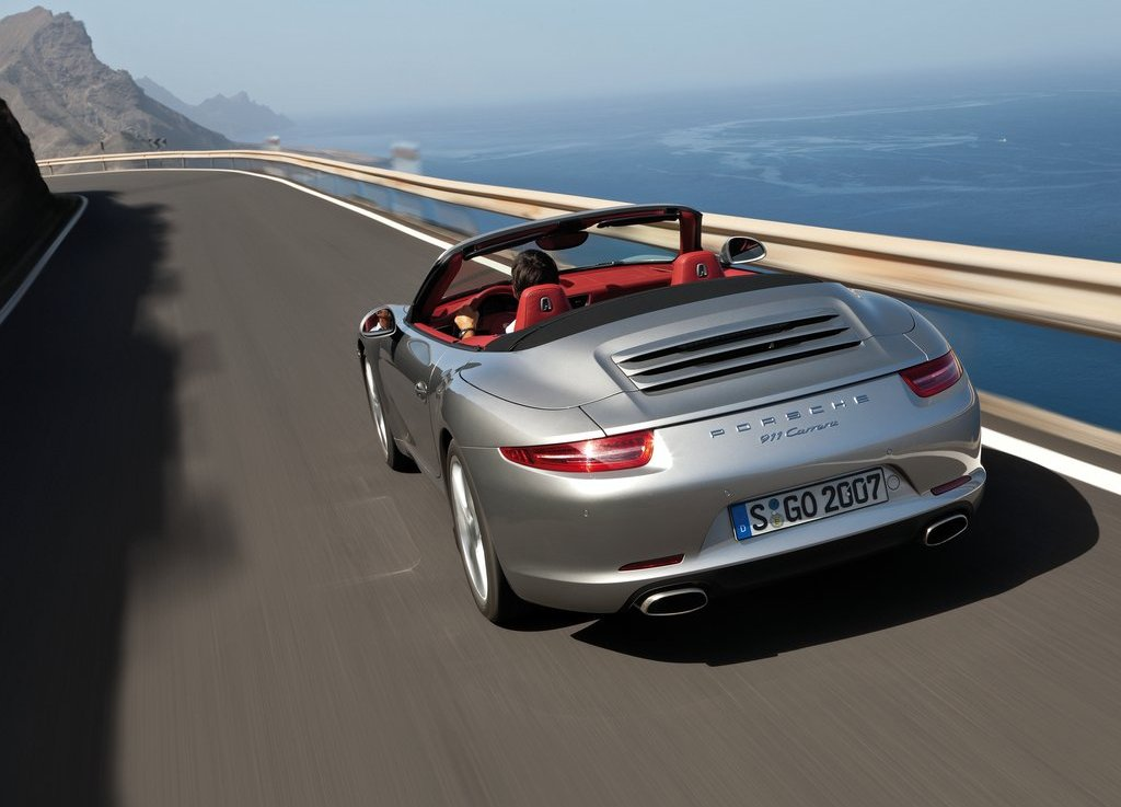 2013 Porsche 911 Carrera Cabriolet Rear (View 4 of 5)
