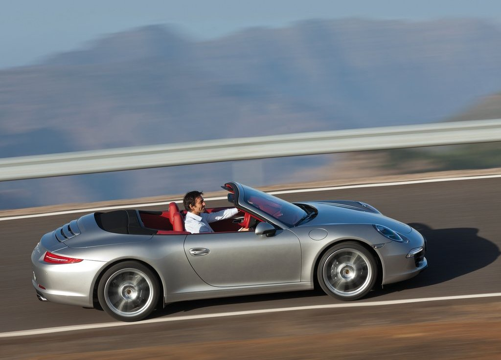 2013 Porsche 911 Carrera Cabriolet Right Side (View 3 of 5)
