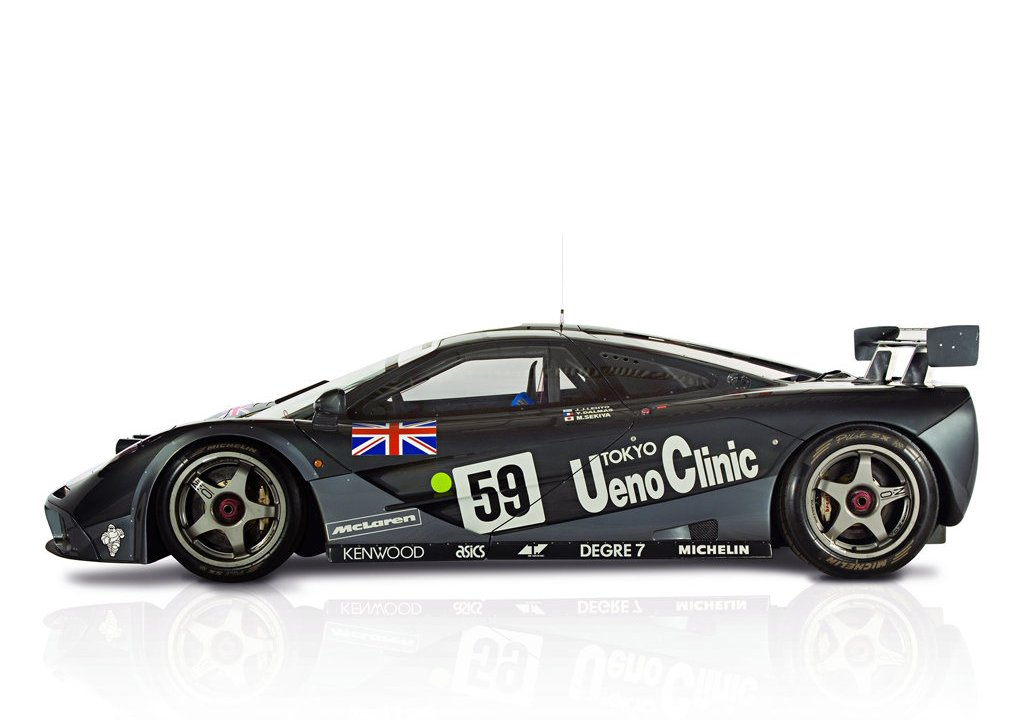 1995 McLaren F1 GTR Side (Photo 3 of 3)