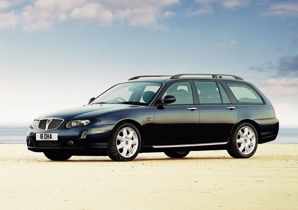 2004 Rover 75 Tourer Left Side (View 2 of 5)