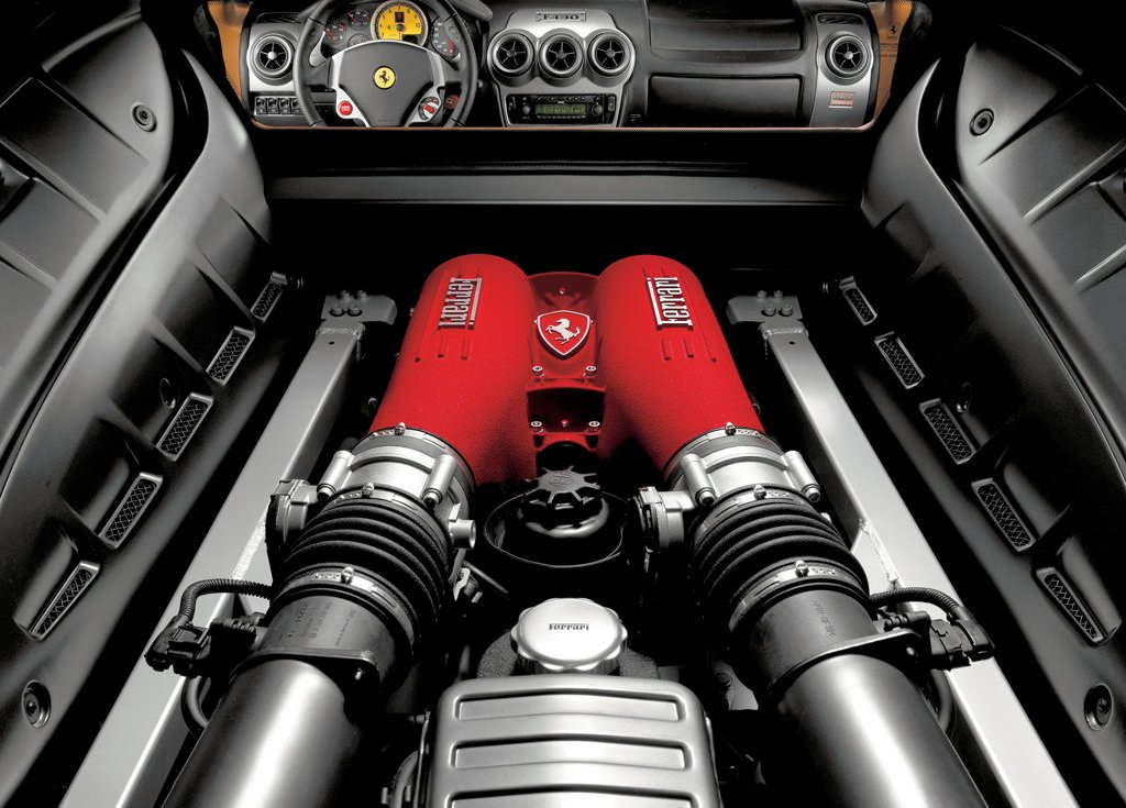 2005 Ferrari F430 Engine (Photo 2 of 8)