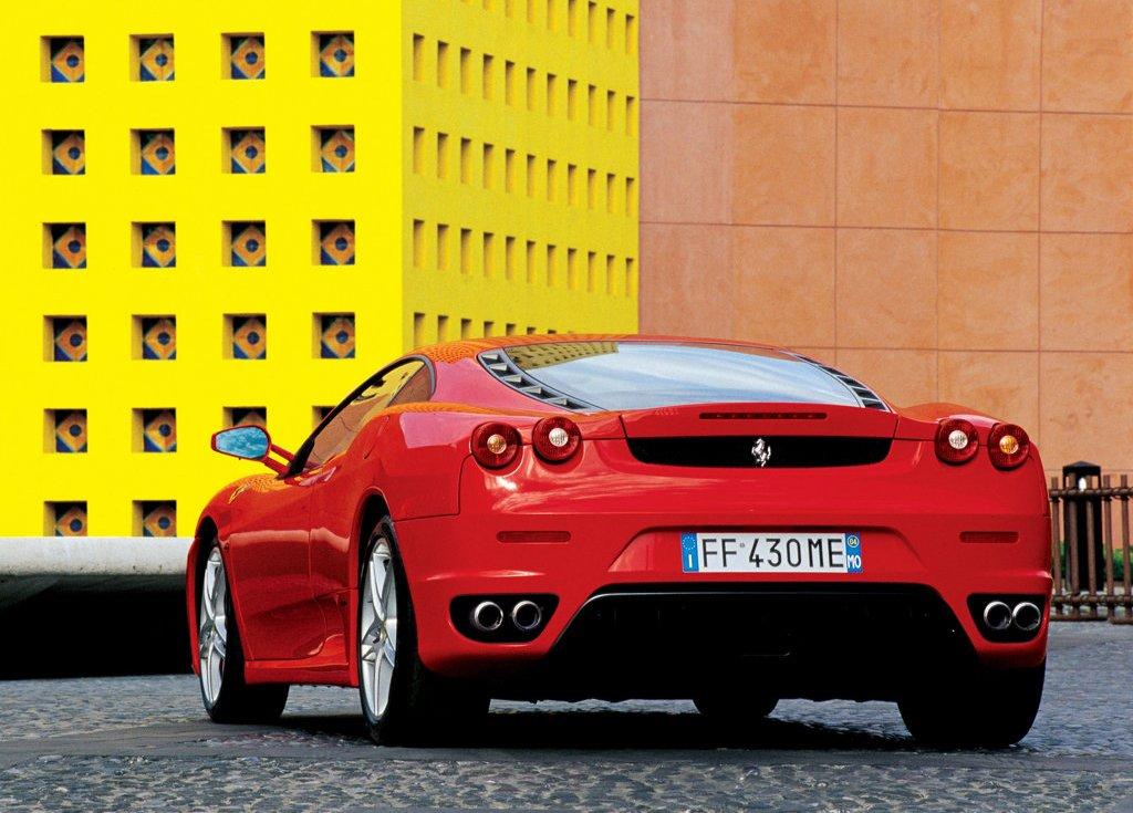 2005 Ferrari F430 Rear (View 5 of 8)