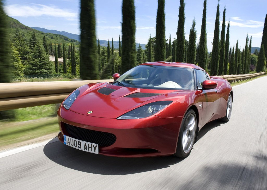 2010 Lotus Evora Front Angle (View 1 of 11)