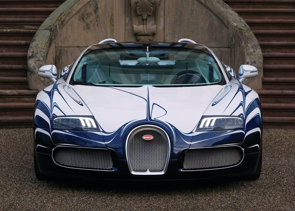 2011 Bugatti Veyron Grand Sport LOr Blanc Front (View 4 of 8)