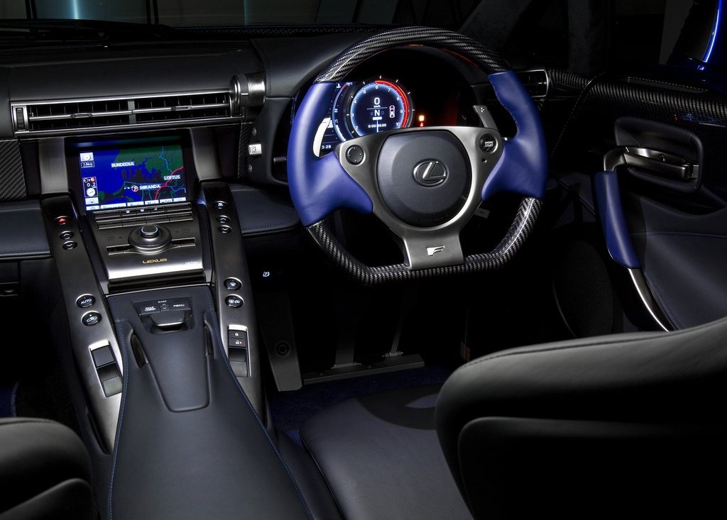 2011 Lexus LFA Interior (Photo 8 of 10)