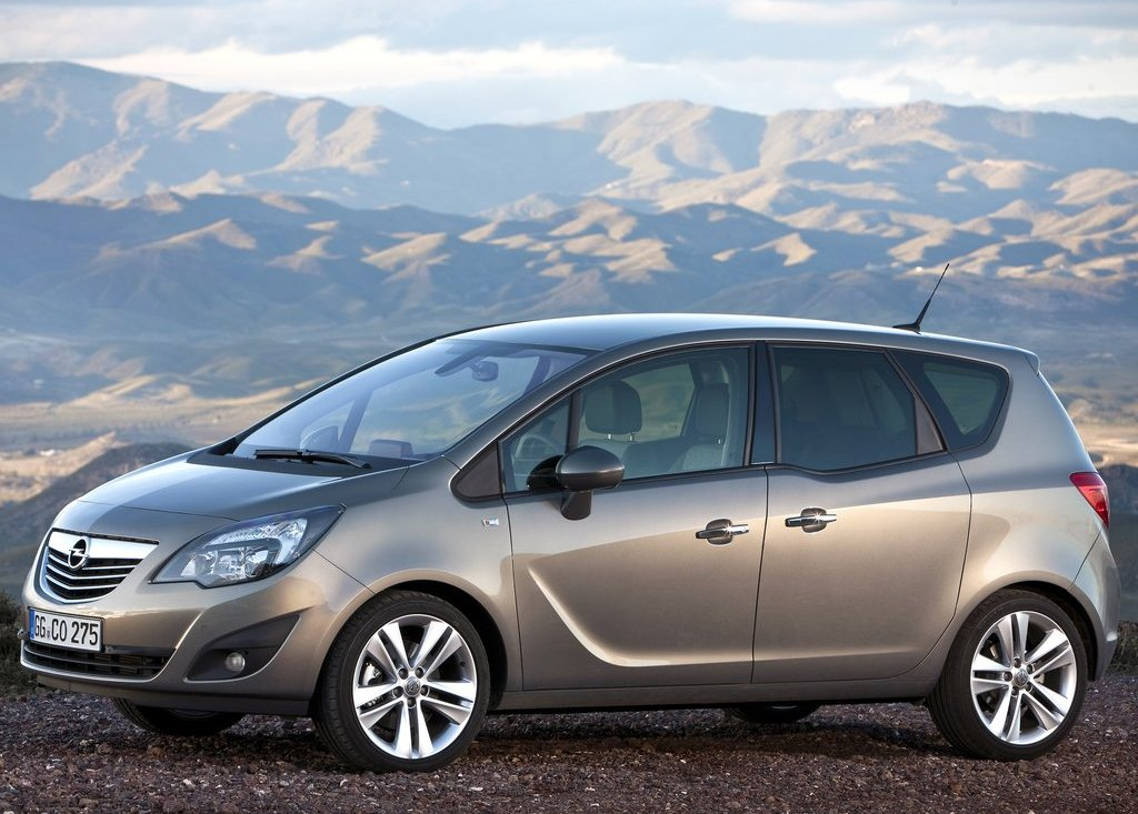 2011 Opel Meriva Left Side (Photo 5 of 9)