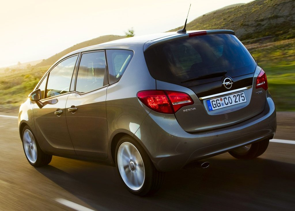 2011 Opel Meriva Rear (Photo 5 of 9)