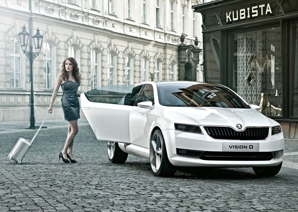 2011 Skoda Design Concept Front (View 4 of 8)