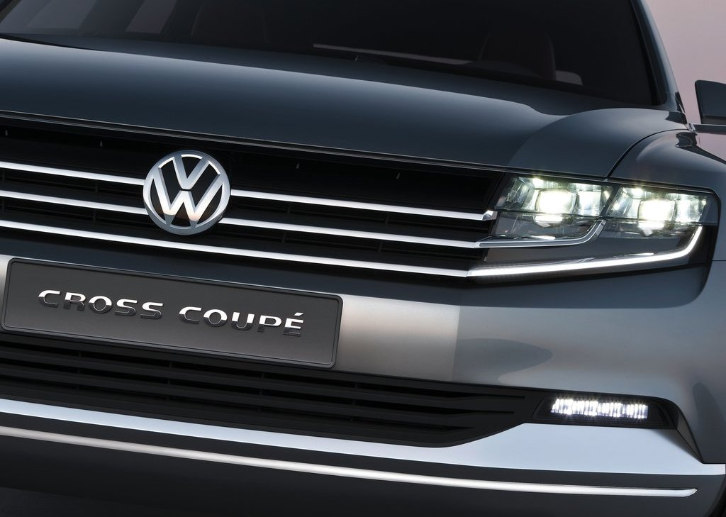 2011 Volkswagen Cross Coupe Grill (Photo 3 of 9)