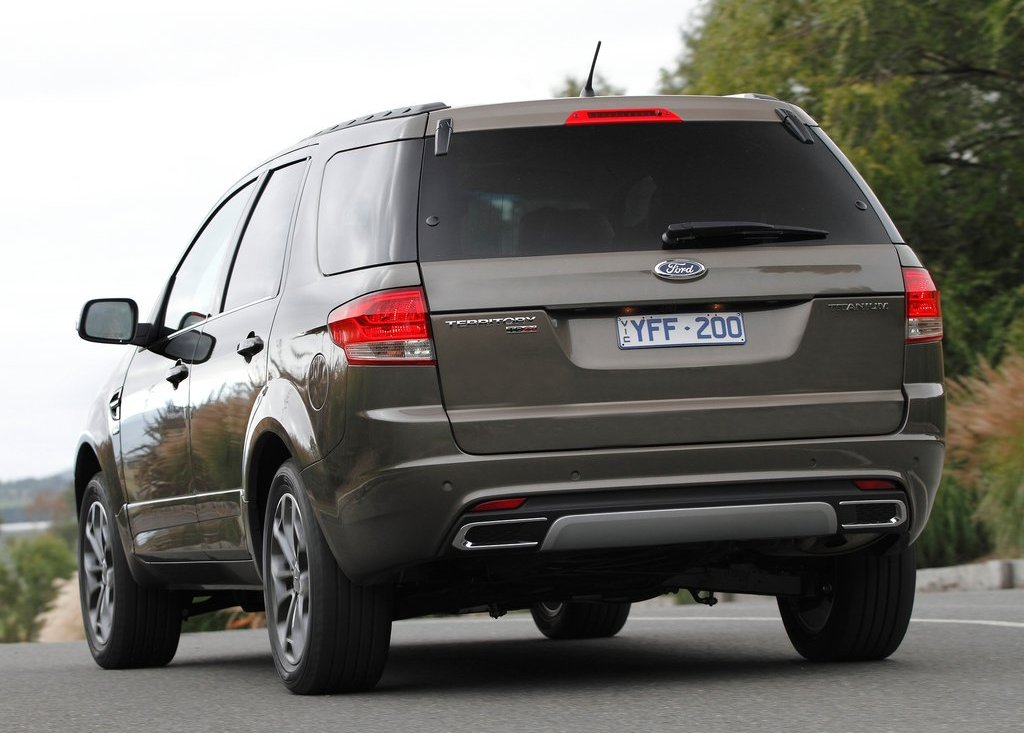 2012 Ford Territory Rear (View 4 of 9)