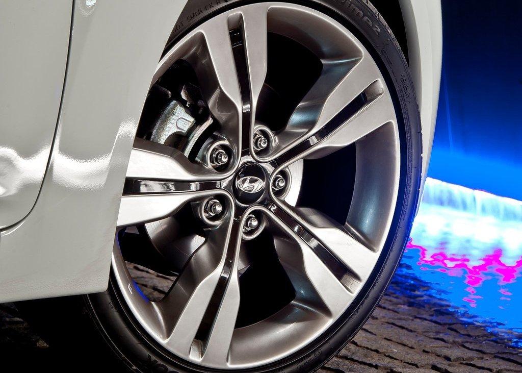 2012 Hyundai Veloster Wheel (View 11 of 13)