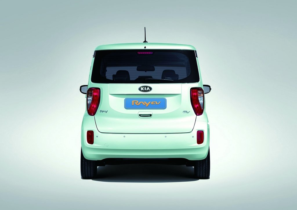 2012 Kia Ray EV Rear (View 2 of 7)