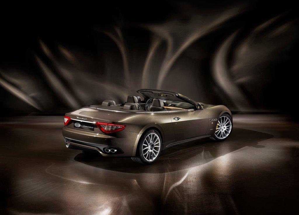 2012 Maserati GranCabrio Fendi Rear (View 2 of 3)