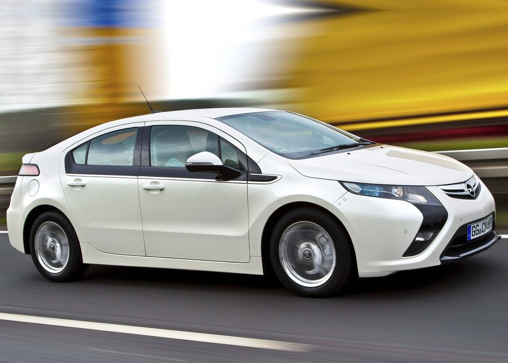 2012 Opel Ampera Side (View 8 of 11)