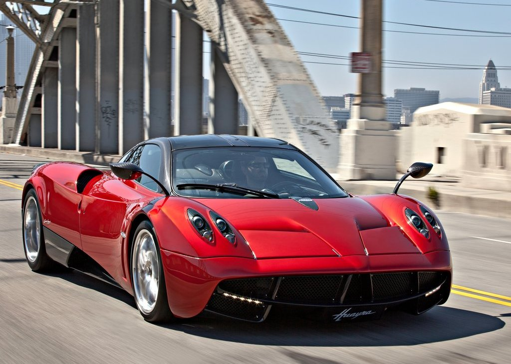 2012 Pagani Huayra Front Angle (Photo 4 of 10)
