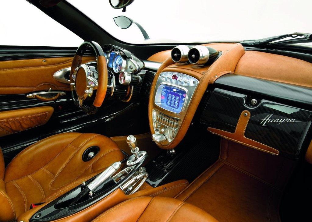 2012 Pagani Huayra Interior (Photo 5 of 10)