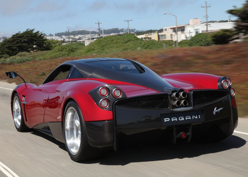 2012 Pagani Huayra Rear (Photo 6 of 10)