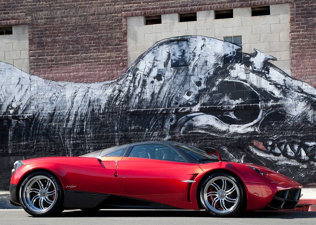 2012 Pagani Huayra Side (Photo 8 of 10)