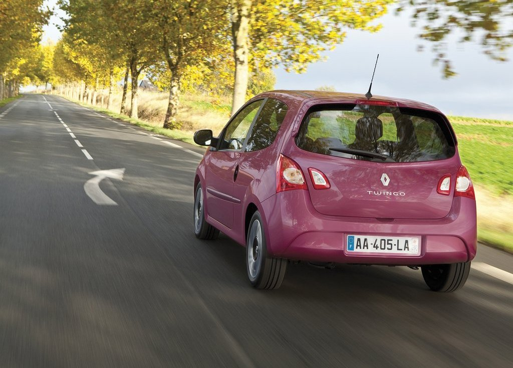 2012 Renault Twingo Rear (View 5 of 9)