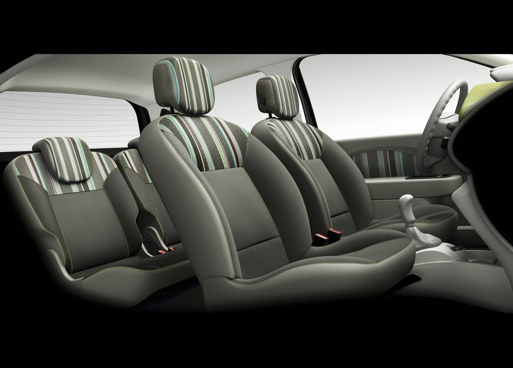 2012 Renault Twingo Seat (Photo 6 of 9)