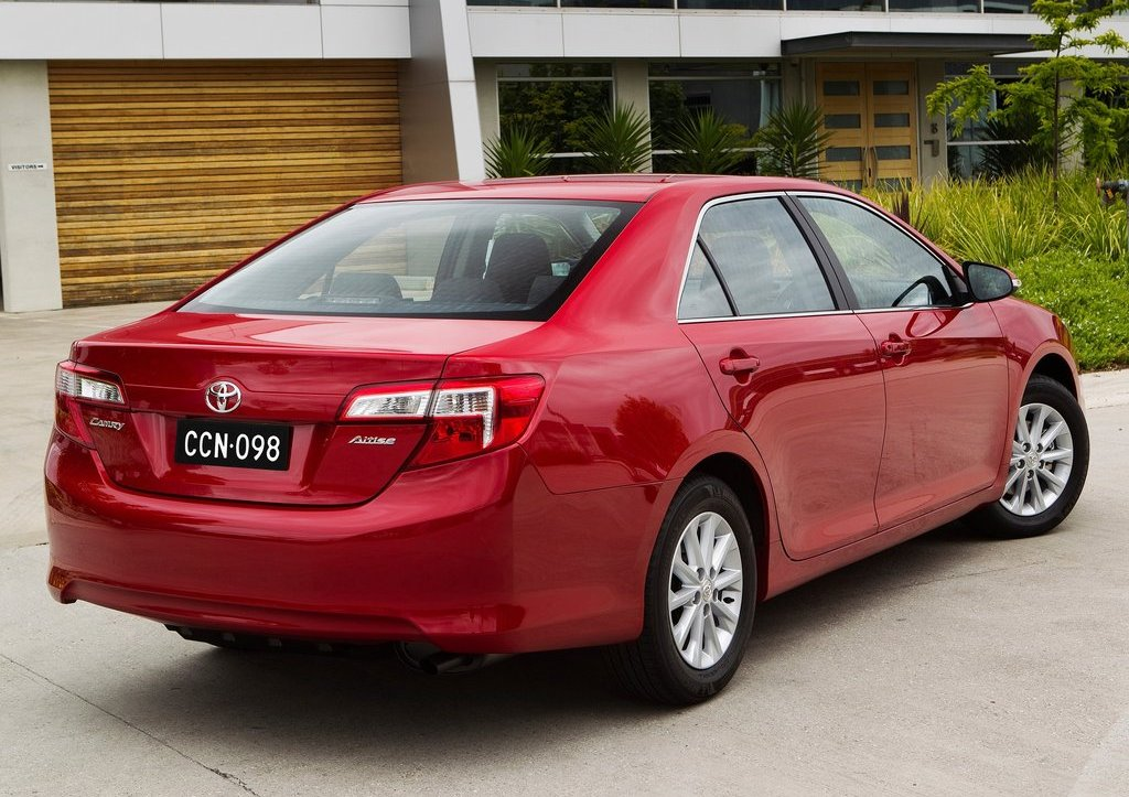 2012 Toyota Camry AU Version Rear (Photo 10 of 10)