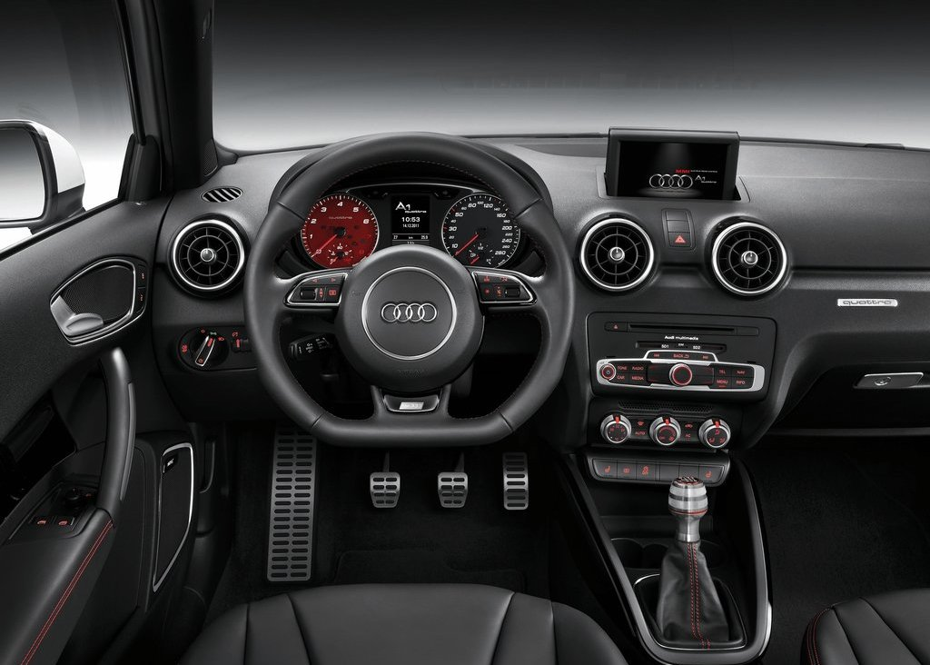 2013 Audi A1 Quattro Interior (Photo 6 of 10)