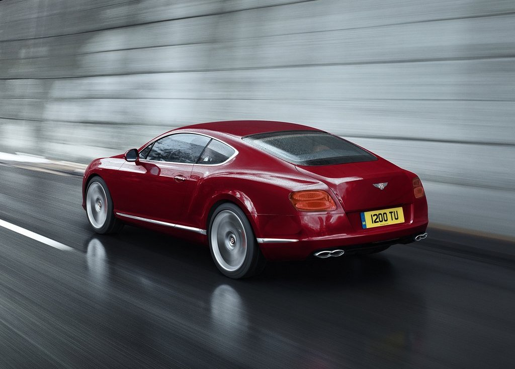 2013 Bentley Continental GT V8 Rear (Photo 5 of 8)