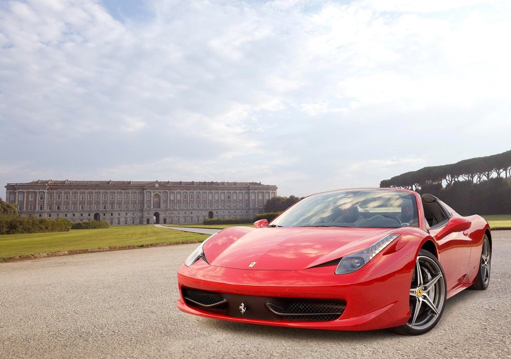 2013 Ferrari 458 Spider Front (Photo 4 of 11)