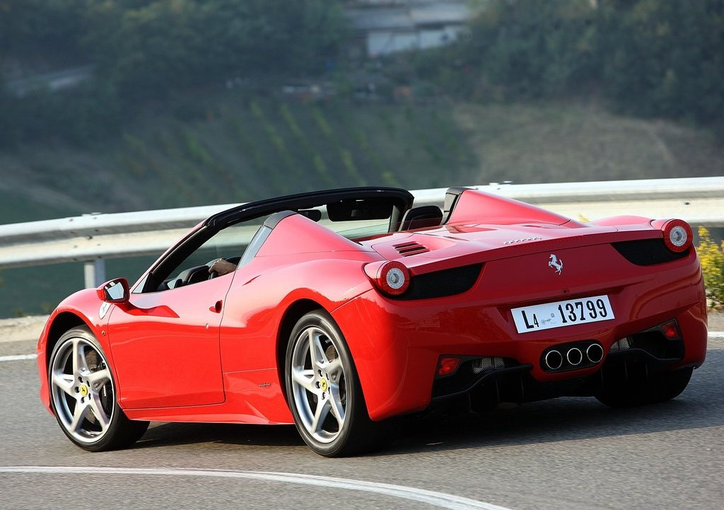 2013 Ferrari 458 Spider Rear Gallery Photo 9 Of 11