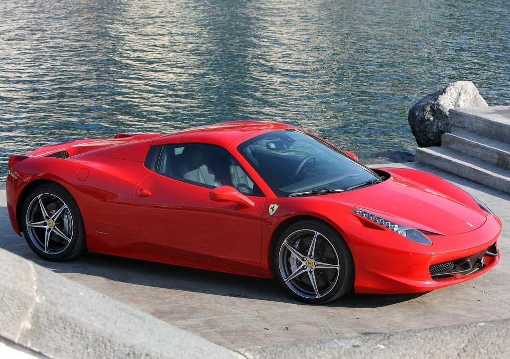 Featured Image of 2013 Ferrari 458 Spider Review