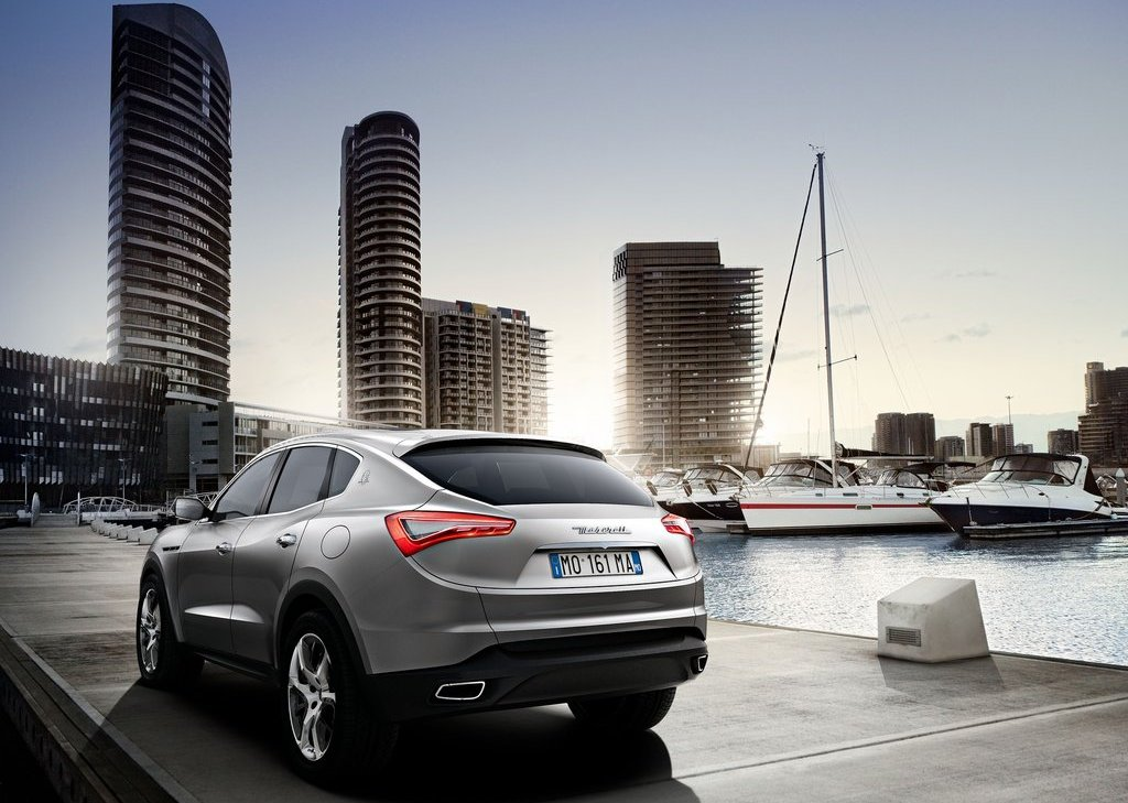 2013 Maserati Kubang Rear (Photo 3 of 3)