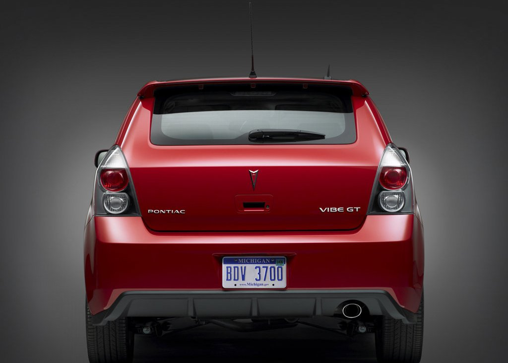 2009 Pontiac Vibe Rear (View 4 of 8)