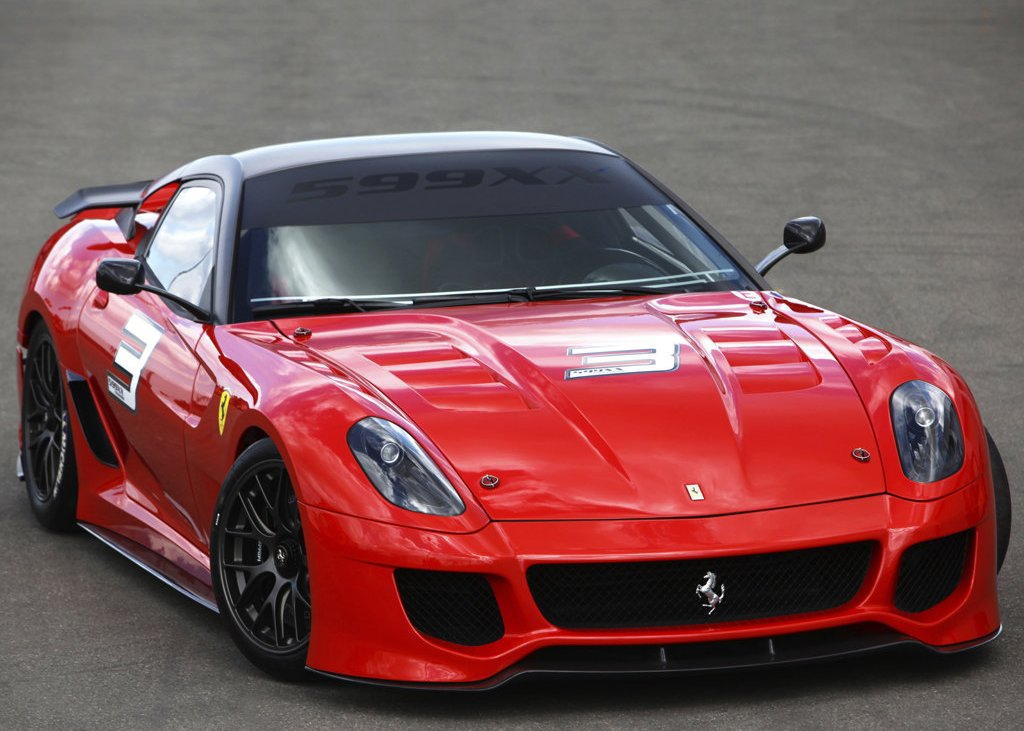 Featured Image of 2010 Ferrari 599XX Concept Review