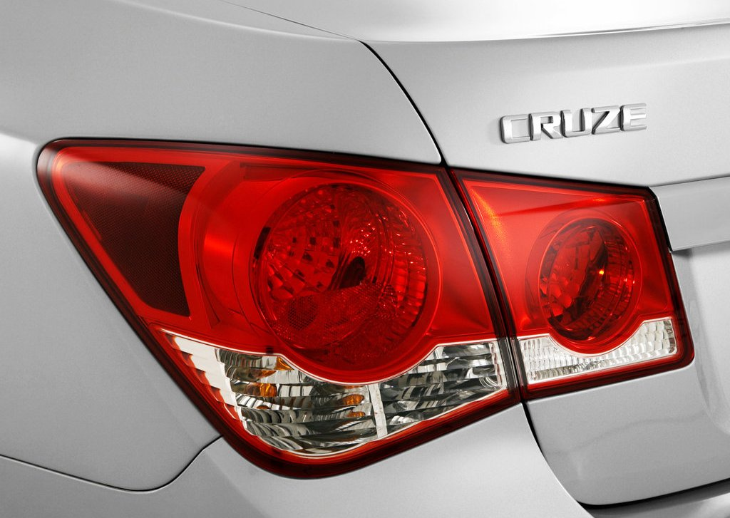 2010 Holden Cruze Tail Lamp (View 7 of 8)