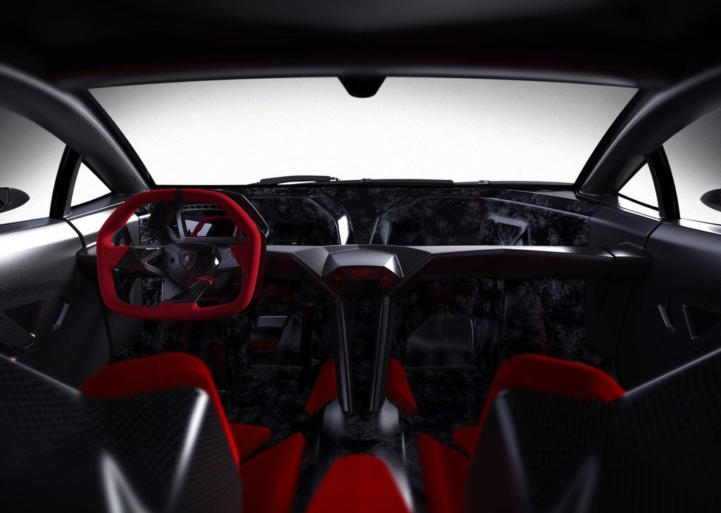 2010 Lamborghini Sesto Elemento Interior (Photo 2 of 6)