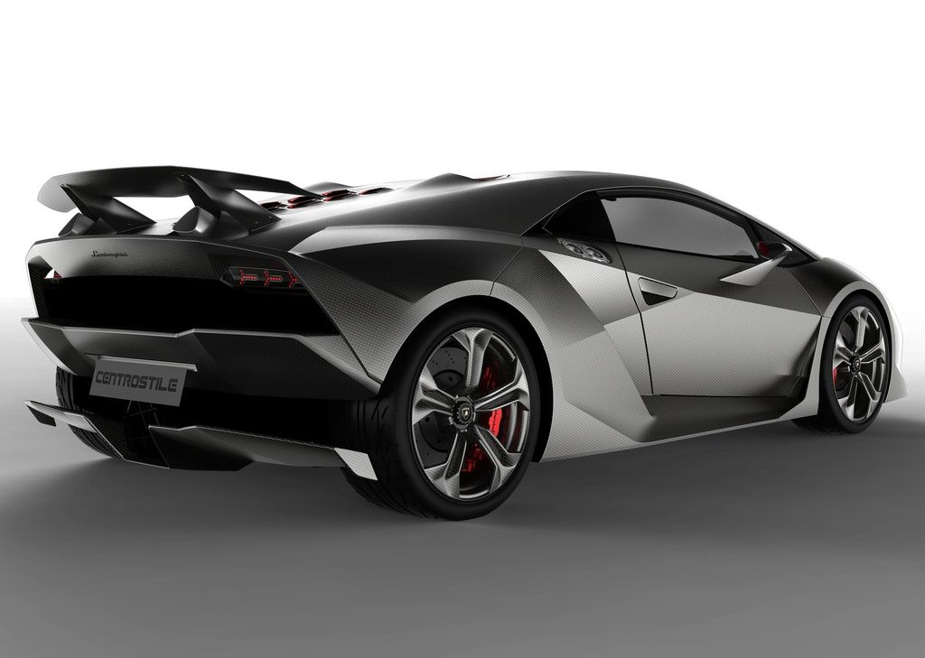 2010 Lamborghini Sesto Elemento Rear Angle (Photo 3 of 6)