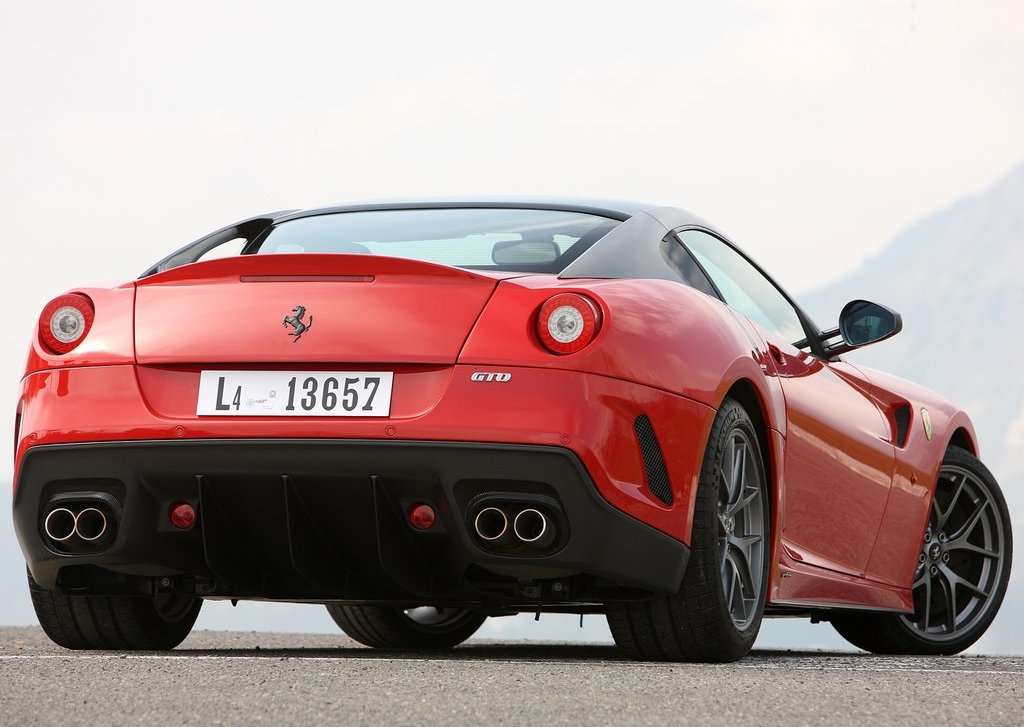 2011 Ferrari 599 GTO Rear (Photo 7 of 11)