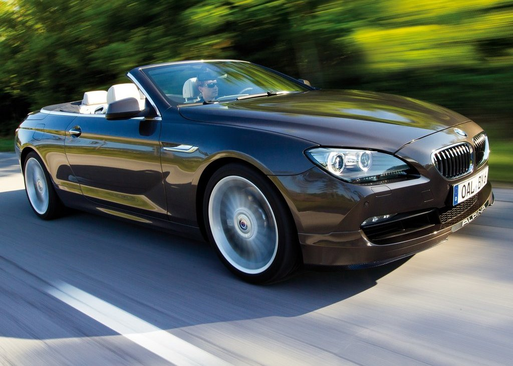2012 Alpina BMW B6 Bi Turbo Convertible Front Angle (Photo 6 of 11)