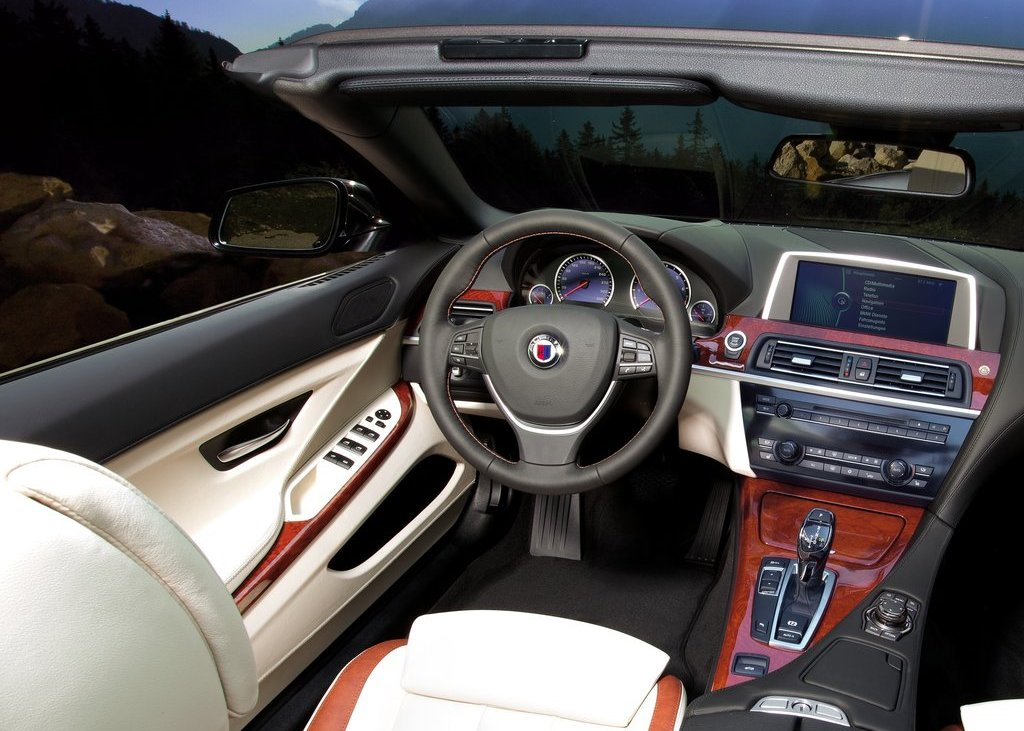 2012 Alpina BMW B6 Bi Turbo Convertible Interior (Photo 7 of 11)