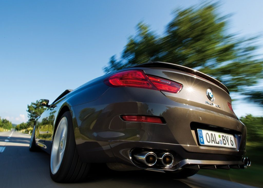 2012 Alpina BMW B6 Bi Turbo Convertible Rear (View 8 of 11)