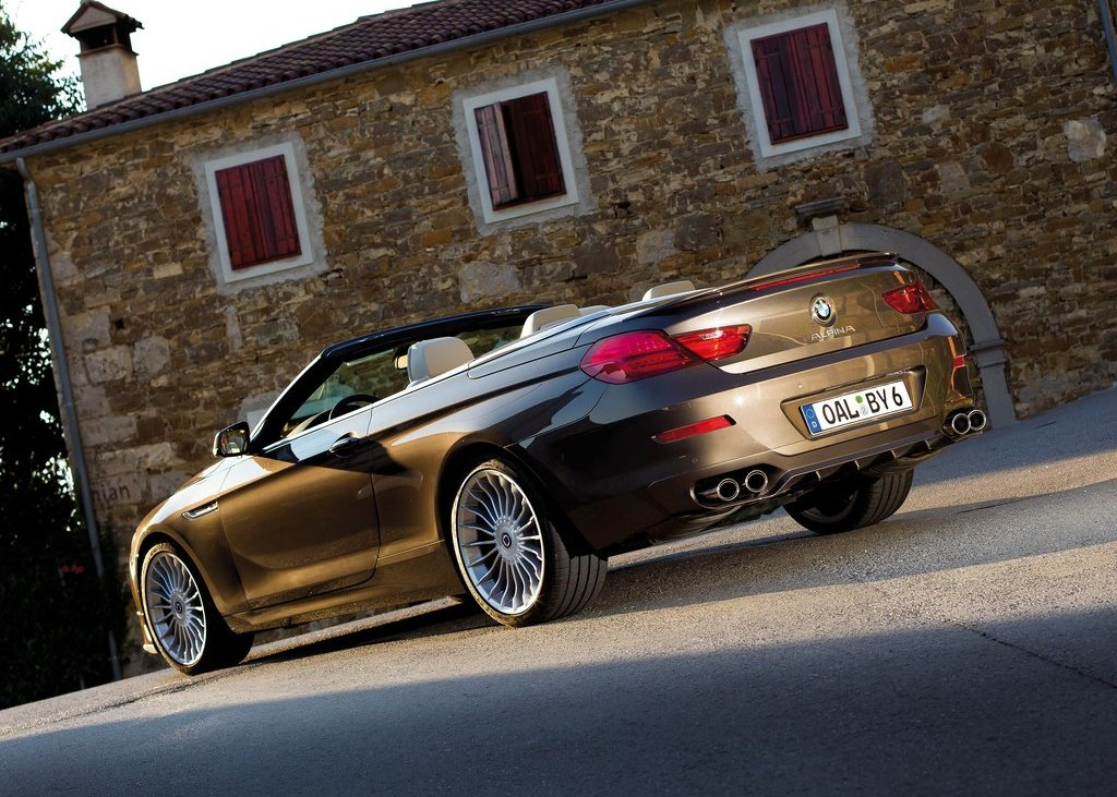 2012 Alpina BMW B6 Bi Turbo Convertible Rear (Photo 10 of 11)