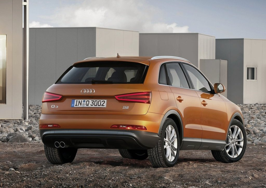 2012 Audi Q3 Rear (View 4 of 12)
