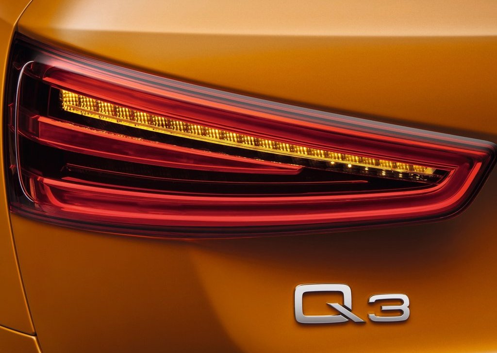 2012 Audi Q3 Tail Lamp (View 12 of 12)