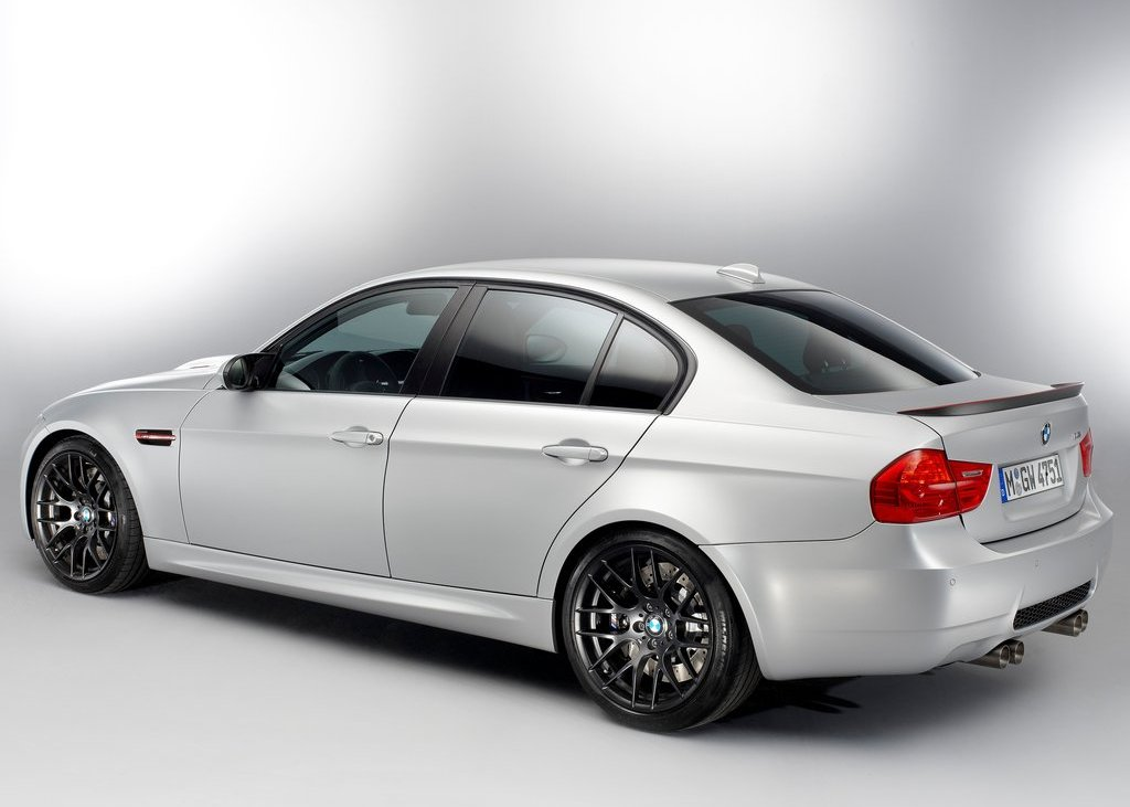 2012 BMW M3 CRT Rear Angle (Photo 10 of 12)