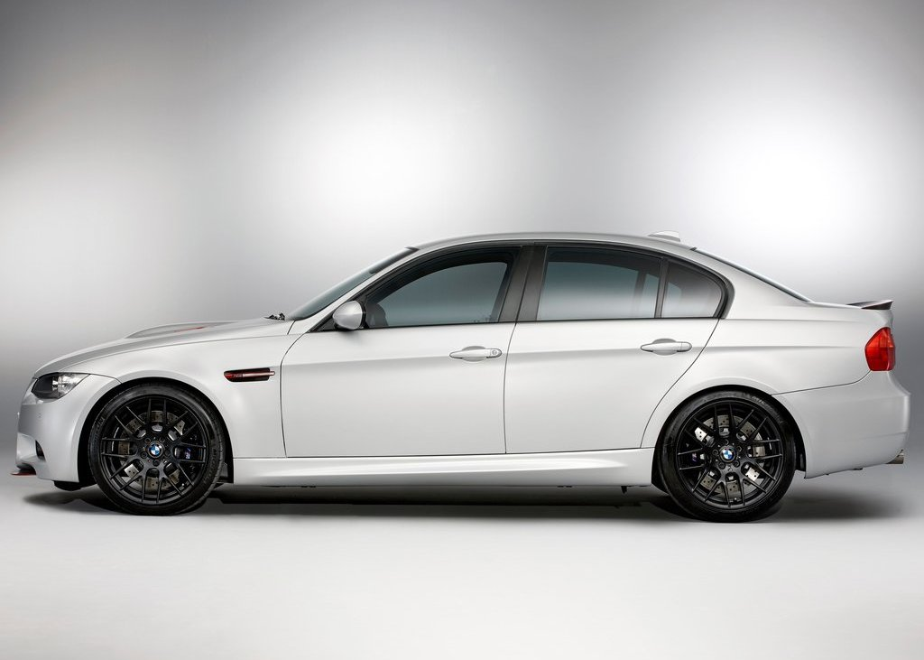 2012 BMW M3 CRT Side (Photo 12 of 12)