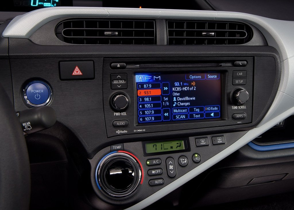2012 Toyota Prius C Feature (View 3 of 10)