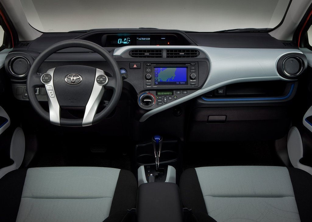2012 Toyota Prius C Interior (View 5 of 10)