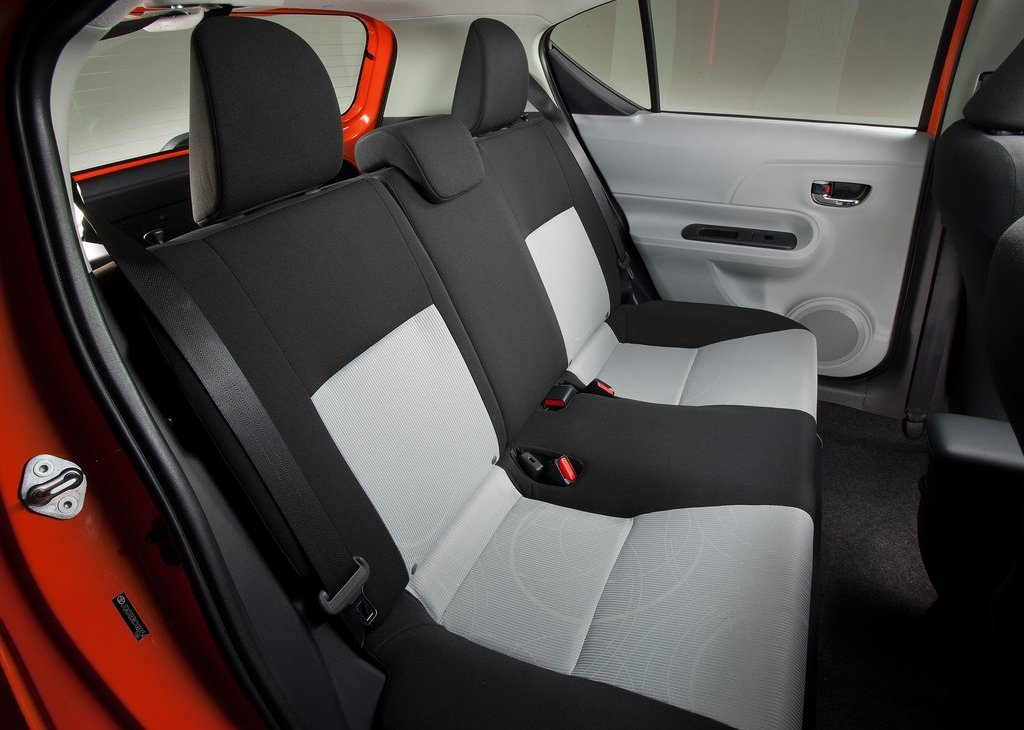 2012 Toyota Prius C Seat (Photo 8 of 10)