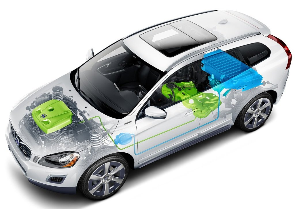 2012 Volvo XC60 Plug In Hybrid Technical (Photo 9 of 10)