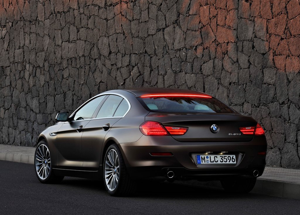 2013 BMW 6 Series Gran Coupe Rear Angle (Photo 12 of 19)